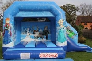 Blue Princesses Bounce n Slide