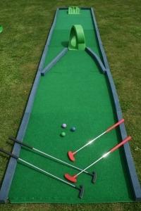 Crazy Golf Hole 1