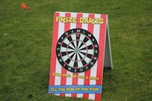 Darts Fete Game