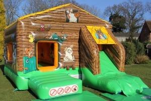 Farm Bounce, Slide & Ball Pool
