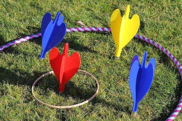 Giant Garden Darts