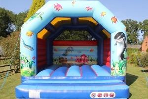 Oceans of Fun Bouncer