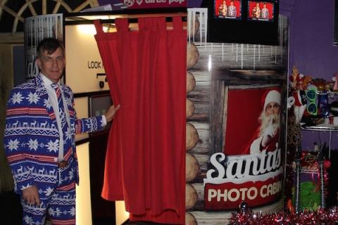 Santas Cabin Photo Booth